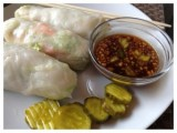 Asian Pickle Spring Rolls