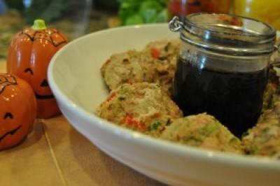 Balsamic Glazed Vegetable Meatballs
