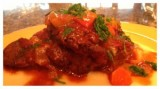 Braised Veal Shanks with Fresh Herbs