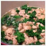 Chicken Sausage and Kale Soup