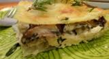 Creamy Chicken and Mushroom Lasagna
