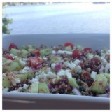 Cucumber and Feta Bulgur Salad