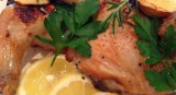 EGG® Roasted Chicken with Lemon and Herbs