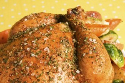 Italian Herb Roast Chicken