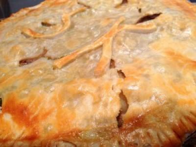 Leftover Chuck Roast Pot Pie