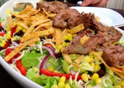 Leftover Chuck Roast SouthWest Salad
