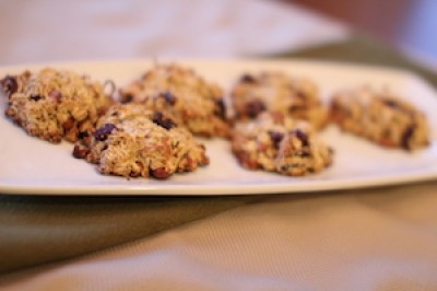 Oats and Nuts Amaranth Cookies