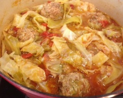 Paleo Un-Stuffed Cabbage Soup