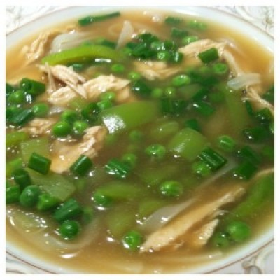 Quick Asian Chicken Soup – Cooking for One!