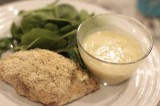 Paleo Chicken Cordon Bleu with a Dijon Gravy