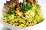 Shrimp and Avocado Salad with Cilantro Vinaigrette