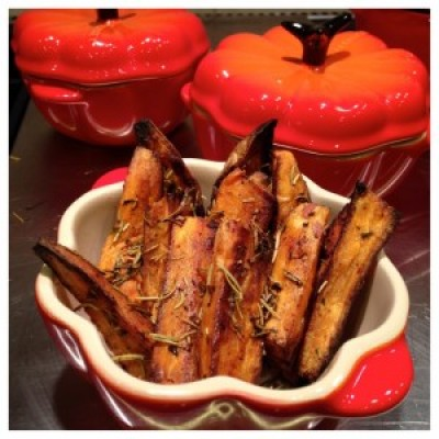 Sweet Potato Wedges with Herbs