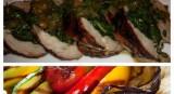 Swiss Chard and Herbs Stuffed Pork Loin