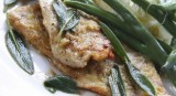 Veal Scaloppini with Sage Leaves