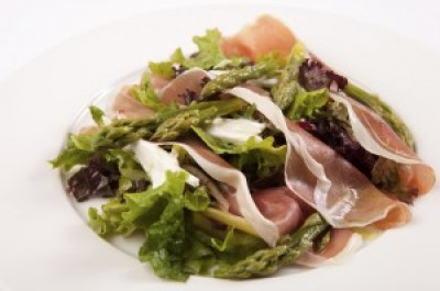 Asparagus and Proscuitto Salad