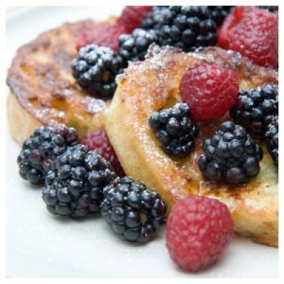 Baked French Toast with Butter Topping