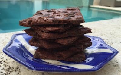 Paleo Chocolate Chip Brownie Brittle