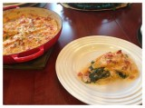 Creamy Spinach Butternut Squash Lasagna