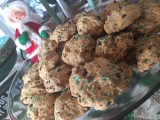Chocolate Chip Cannoli Cookies