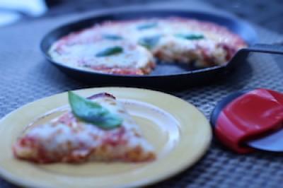 Cauliflower Crust Paleo Pizza
