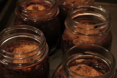 Paleo Chocolate and Almond Lava Cakes