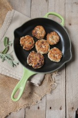 Chicken, Apple and Sage Sausage Patties