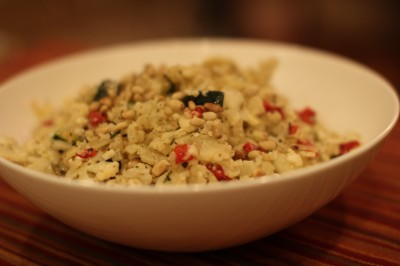 Grilled Vegetable Cauliflower Couscous