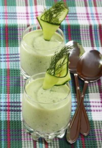 Creamy Cucumber Soup