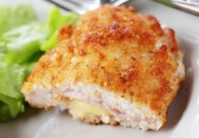 Dijon Chicken Cordon Bleu