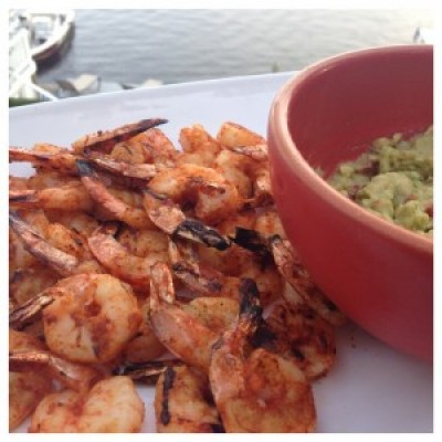 Easy Grilled Spicy Shrimp
