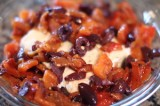 Feta with Roasted Red Peppers and Olives