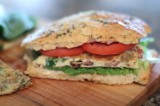 Italian Frittata Club Sandwiches