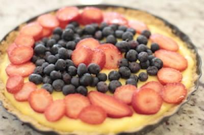 Paleo Fruit Tart
