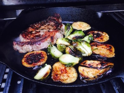One-Pot Grilled Steak and Vegetables