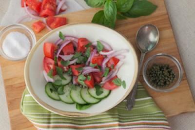 Italian Style Tomato Salad