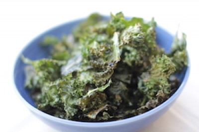 3 ingredient Kale Chips