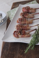 Lamb Chops wrapped with Prosciutto