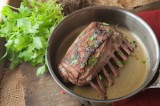 Rack of Lamb Marsala