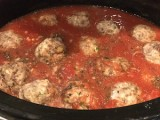 Stuffed Manicotti Meatballs