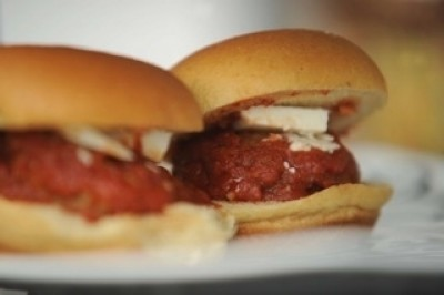 Melt in your mouth meatball sliders