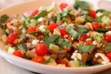 Amaranth Mediterranean Salad with a Balsamic Vinaigrette