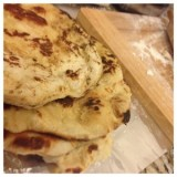 Easy Paleo Naan Bread