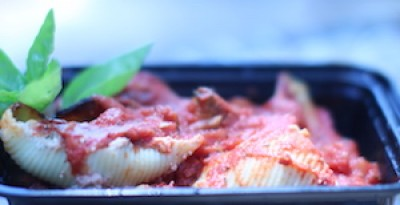 Nana's Meat Stuffed Shells