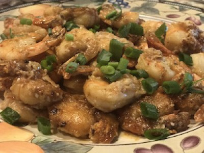Orange Shrimp Appetizer