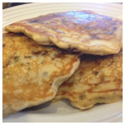 Paleo Crunch Pancakes