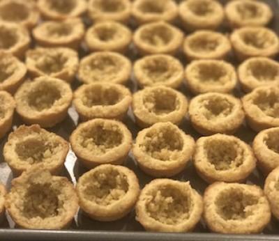 Petite Almond Flour Tarts