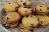 Polenta Blueberry Muffins