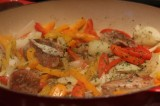 Pork Tenderloin with Peppers and Onions