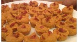 Sweet Potato Apple and Bacon Mini-PupCakes