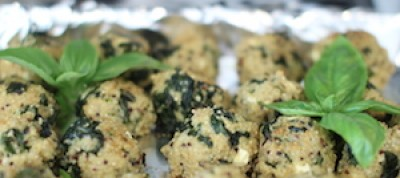Quinoa and Kale Meatballs